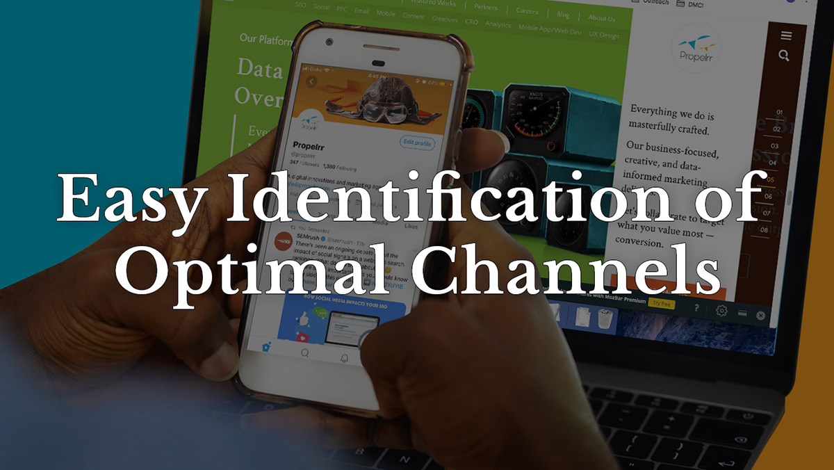 Easy identification of optimal channels