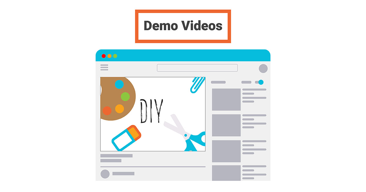 Post effective product demo videos