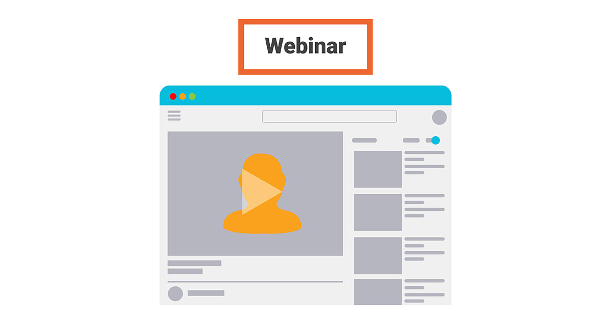 Make informative webinars