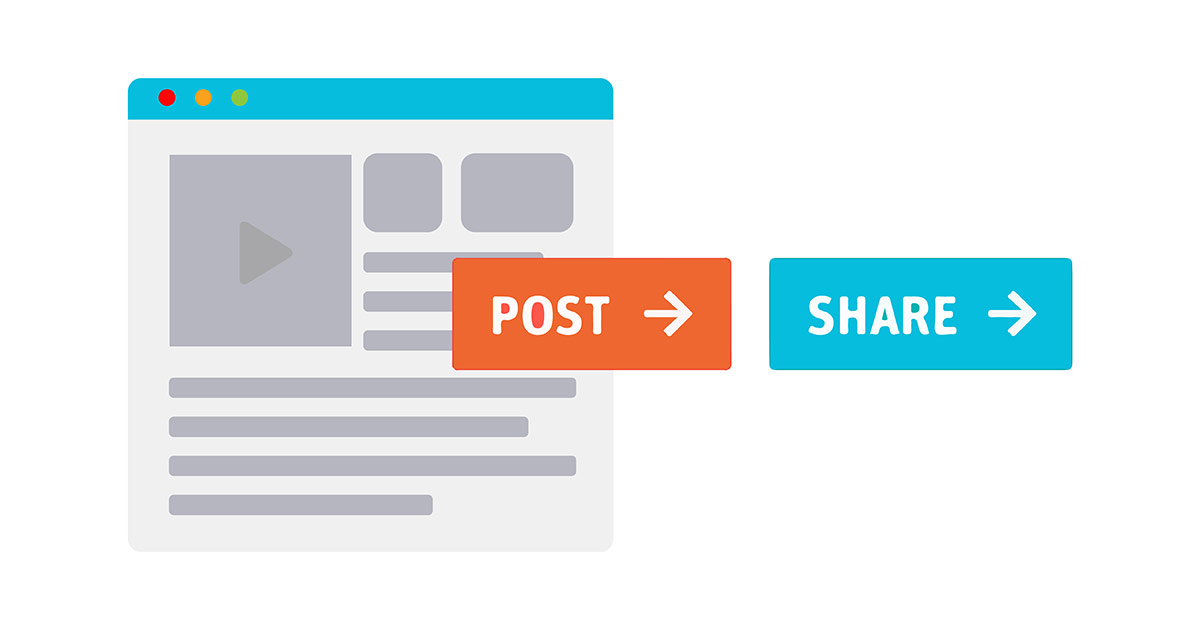 Post and share at the right time