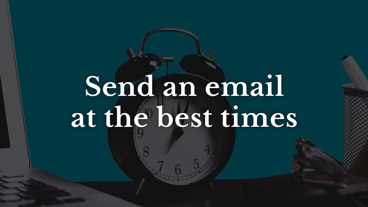 Best time email marketing