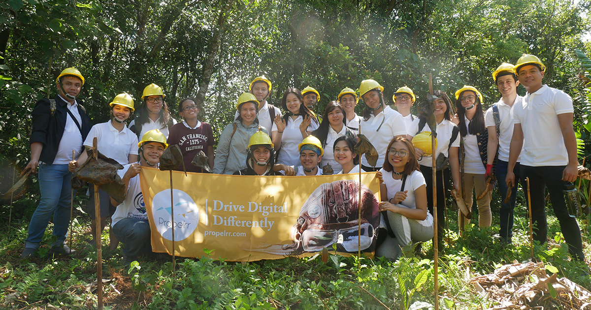 Propelrr Employees Get Their Hands Dirty With Tree Planting