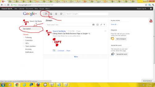 Google+ Get Started
