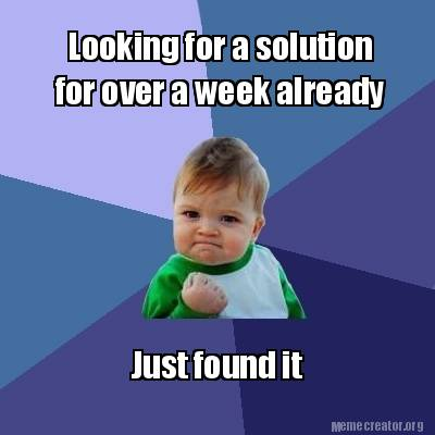 i found the solution meme