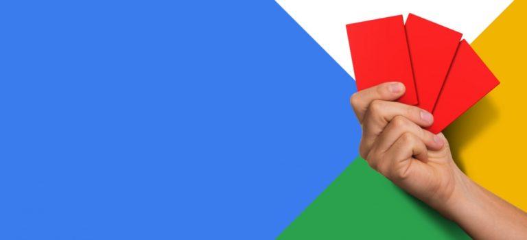 google penalty case study