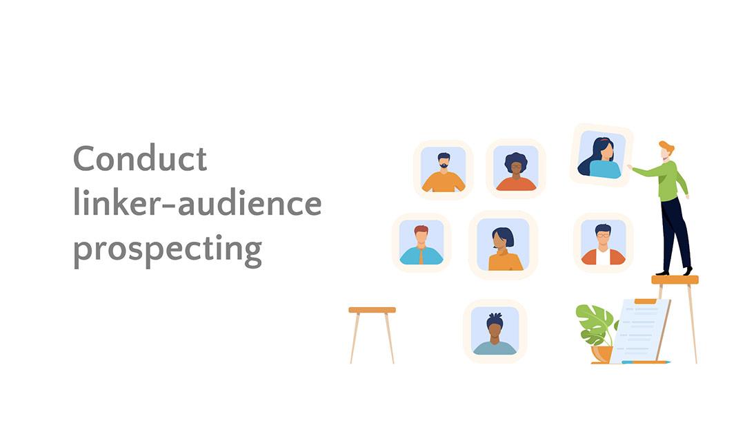 Linker-audience prospecting