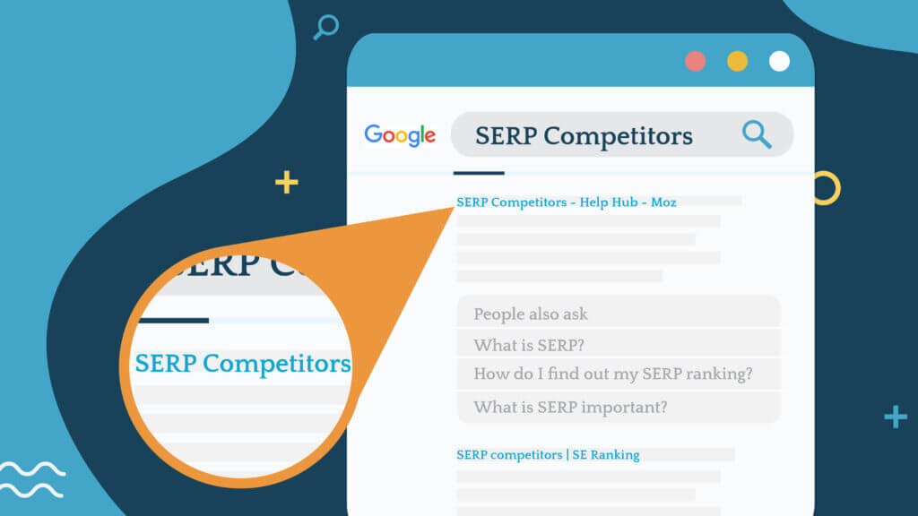 identifying serp competitors