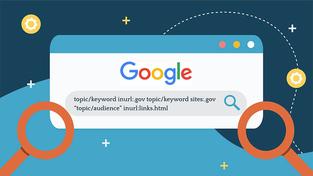Advanced search query for topics