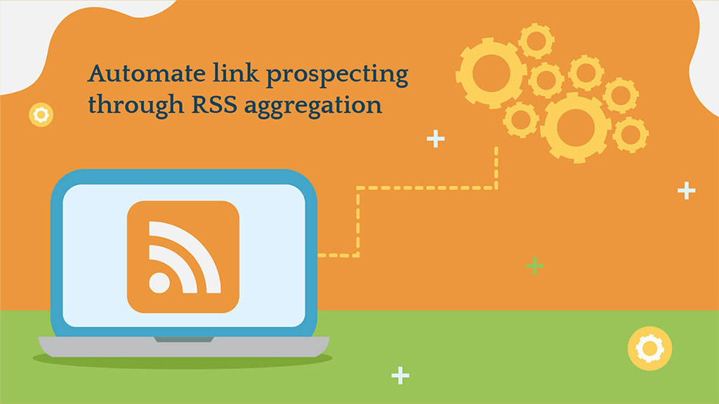 Link prospecting via RSS