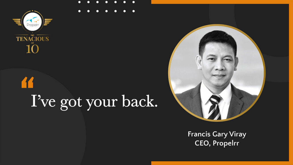 gary viray's opening message