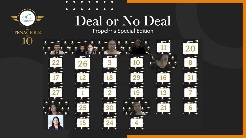 Propelrr Deal or No Deal