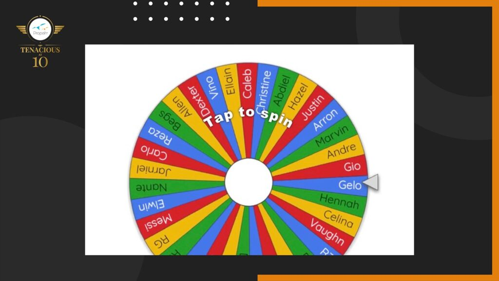 Propelrr's 10th Anniversary Prize Wheel