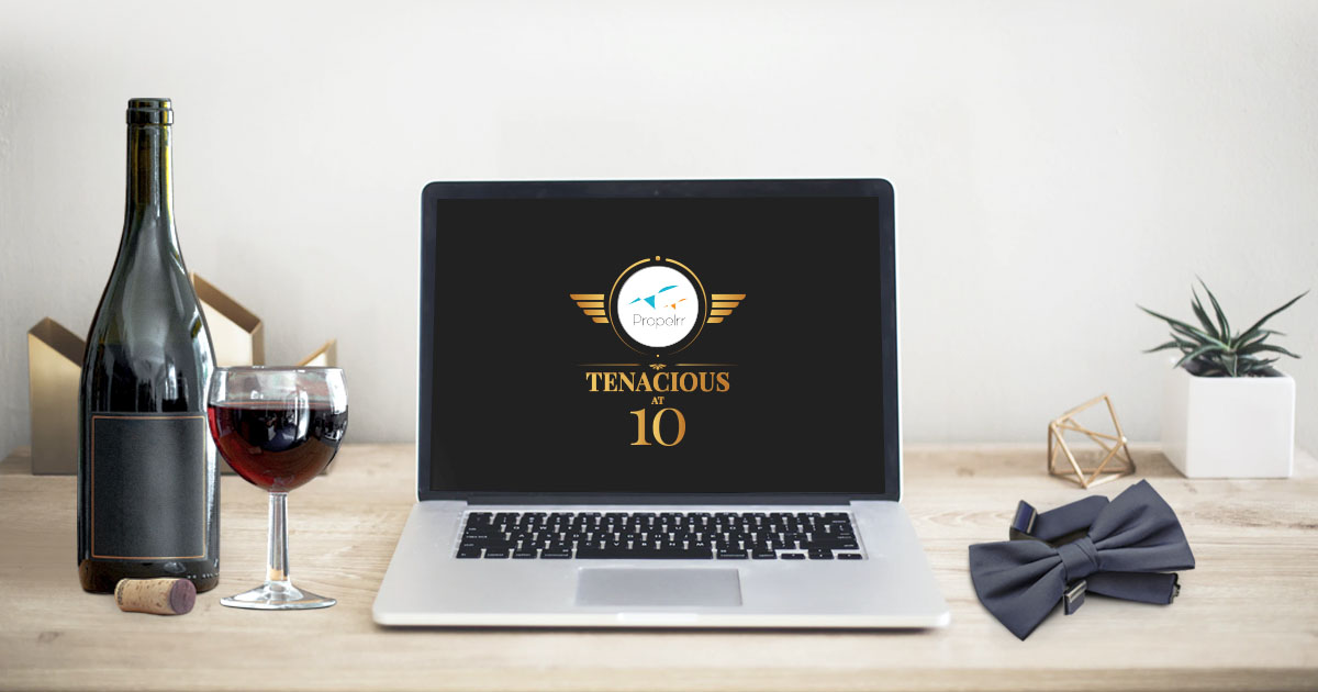 A Decade of Tenacity: Propelrr Celebrates 10th Anniversary Online