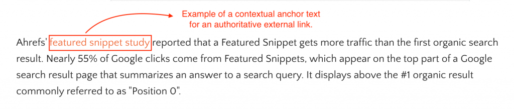example of external link