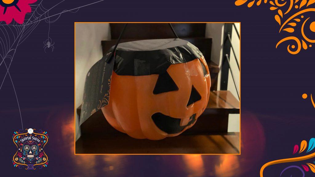 Halloween trick-or-treat basket