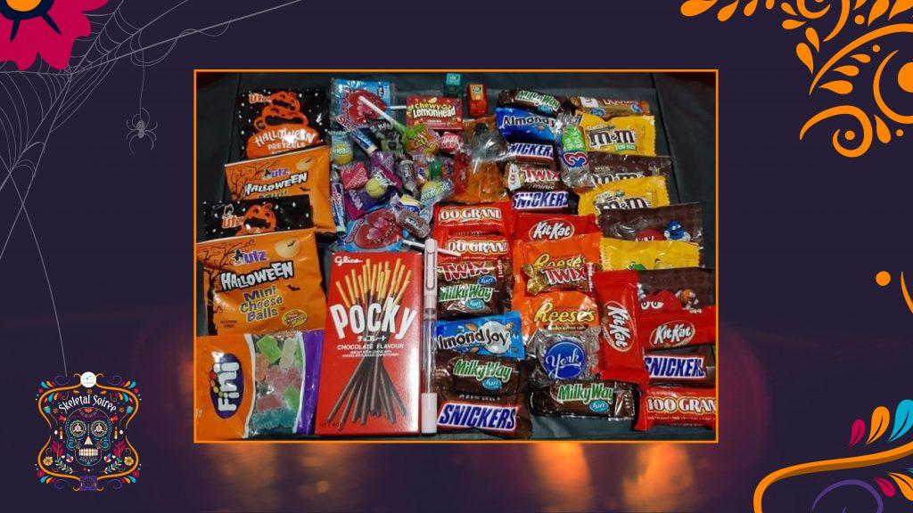 treat for Halloween basket