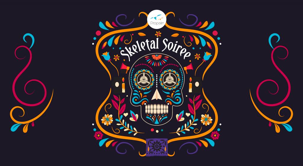 skeletal soiree logo