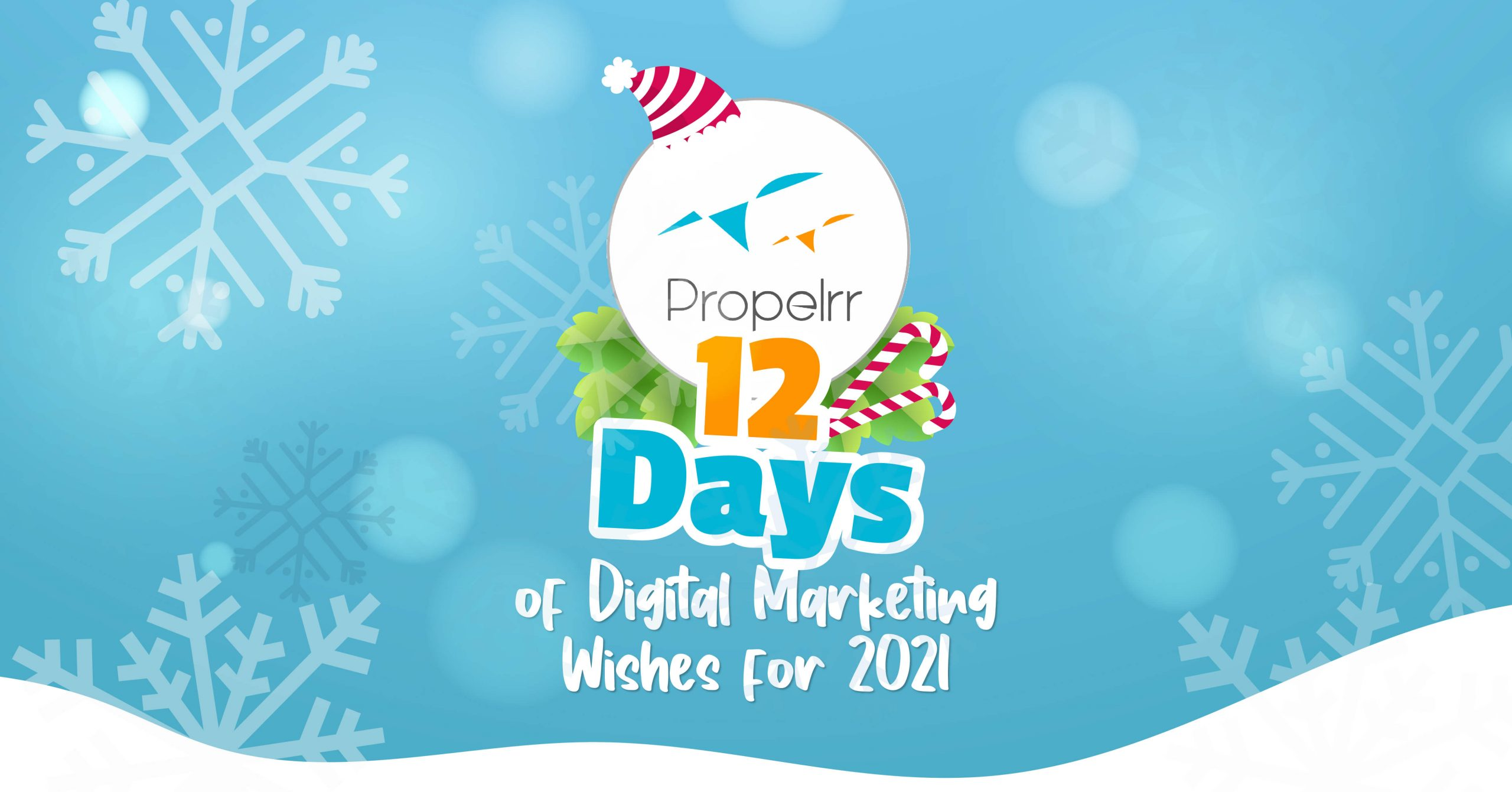 12 Days of Digital Marketing Wishes for 2021