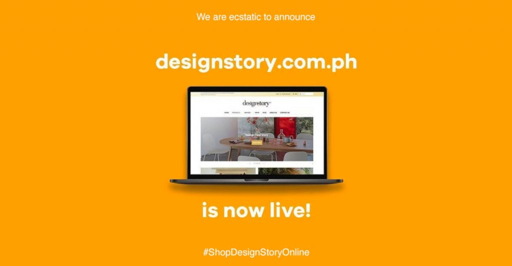 designstory website annoucement