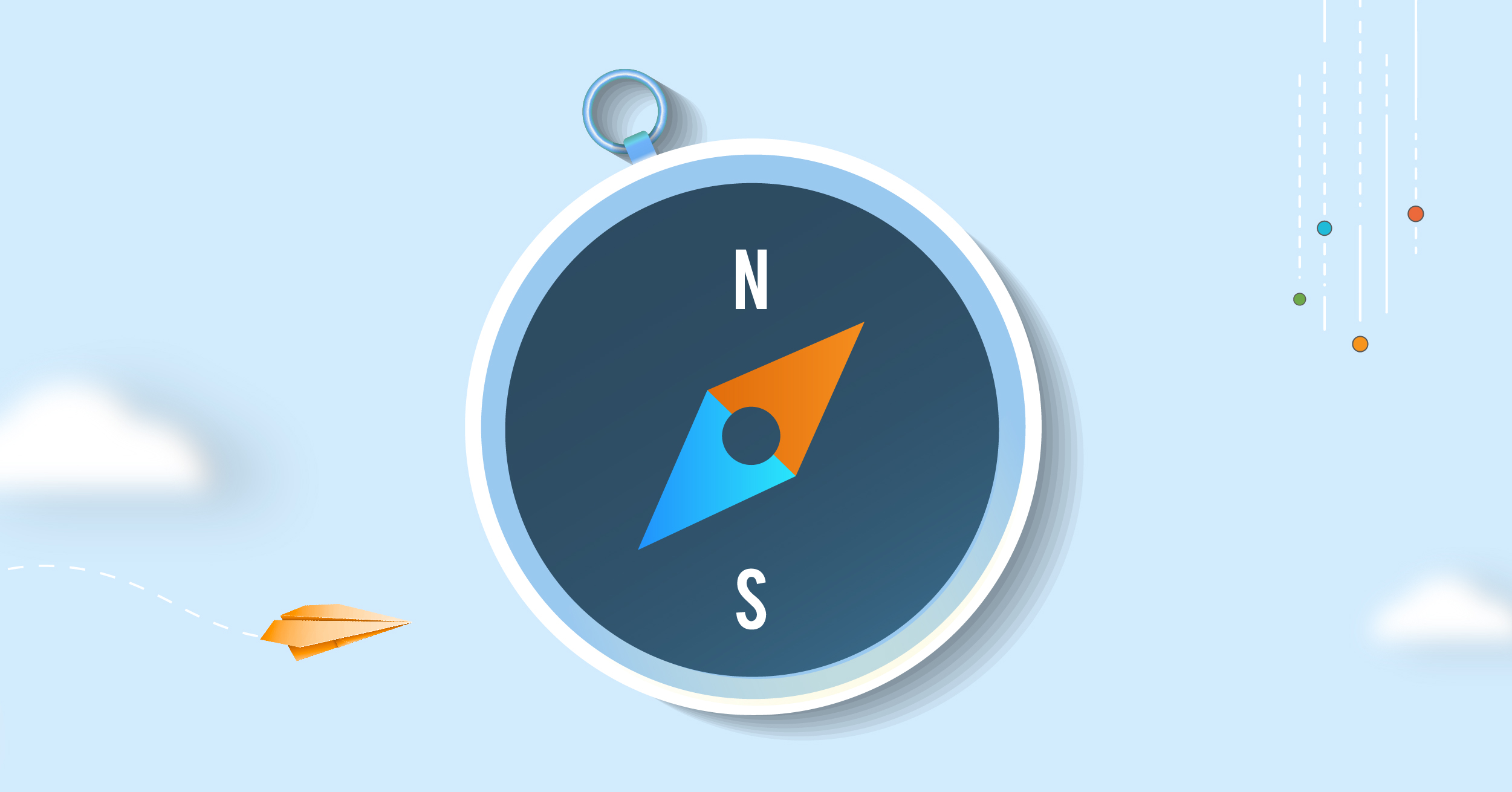 A digital marketing strategy framework functions as a compass