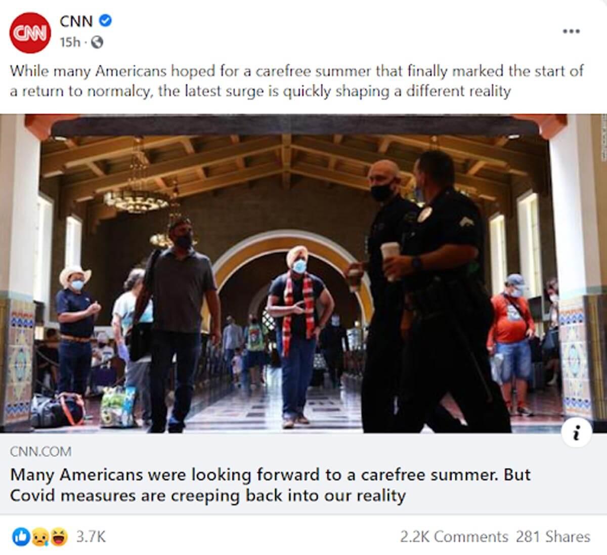 CNN Social Media Post