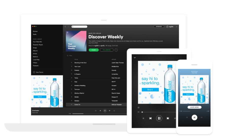 Paid Channel - Messaging Ads on Spotify