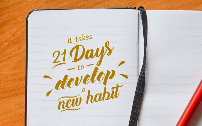 Propelrr Way 21 Days to Develop a New Habit